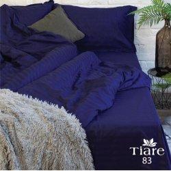 Постельное белье Viluta Satin Stripe 83 Tiare синее
