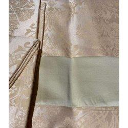 Семейное постельное бельё Zugo Home бамбук Standart золото