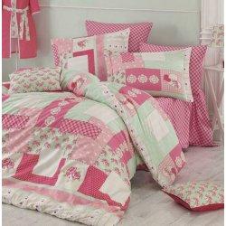 Постельное бельё Zugo Home ранфорс Penty розовое евро
