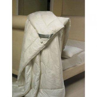 Одеяло зима-лето шёлк + шерсть